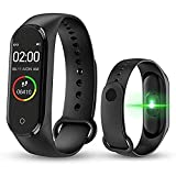 Mother Earth M4 Smart Fitness Band for Men/Women/Boys/Kids/Girls | Sports Watch Compatible