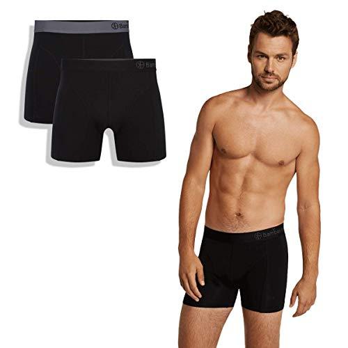 Bamboo Basics - Luxe Perfect fit Heren Boxershorts (2-pack) - Levi - Thermo - Zijdezacht en Hypoallergeen