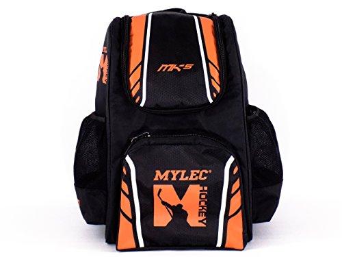 Mylec MK5–Mochila, Color Negro/Naranja
