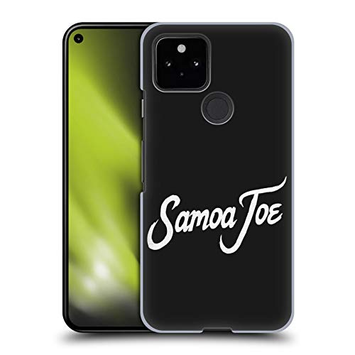 Head Case Designs Officially Licensed WWE Logo Samoa Joe Hard Back Case Compatible with Google Pixel 5