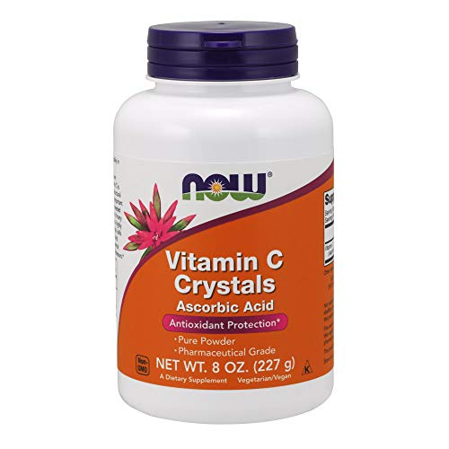 Now Foods, vitamine C Crystals, 8 oz (227 g).