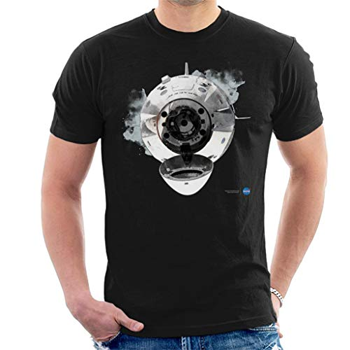 Nasa SpaceX Dragon Capsule Docking Men's T-Shirt