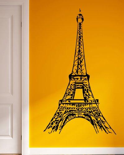 Eiffel Tower Paris Romance French Love Decor Wall Mural Vinyl Decal Sticker M420