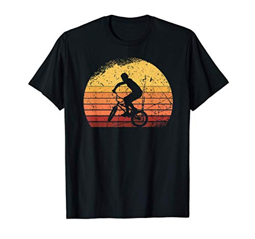 BMX Outfit Vintage Retro Gift Bicycle Hobby Sport MTB T-Shirt