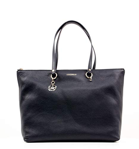 Coccinelle Alpha Borsa shopper blu scuro