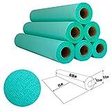 Papel de camilla Parafinado (caja de 6 unidades) de 0,60 x 65m (1,5kg) | Rollo Color Verde Parafinado Sin Precorte