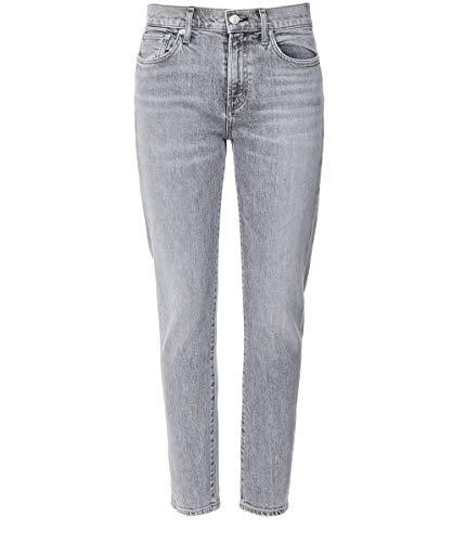 AGOLDE Damen Toni Mid Rise Straight Leg Jeans Grau 27