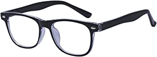 ALWAYSUV Anti Blue Light Computer Reading/Gaming Glasses for Kids Protection Low Color Distortion Black Frame