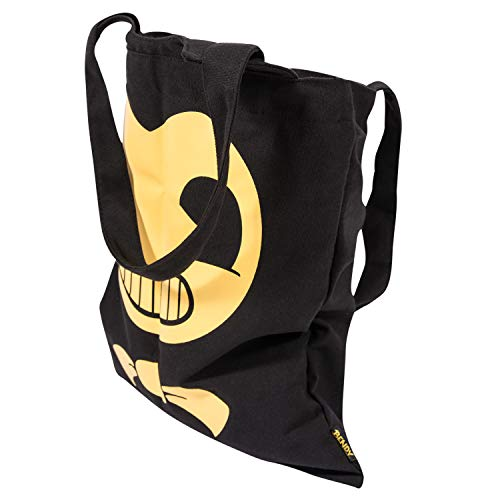 Bendy and the Ink Machine Tote - Black Bendy Big Face Tote (Bendy Big Face)