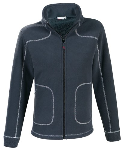 Marinepool Damen Jacke Lillehammer Fleece Jacket, Midnight, XXL