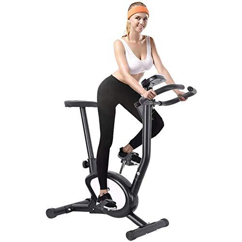 Lhlbgdz Bicicleta estática para el hogar, con Resistencia a la Velocidad, Equipo para Bajar de Peso