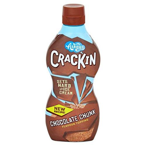 Askeys Choc Chunk Crackin 'Ice Cream Topping 225g