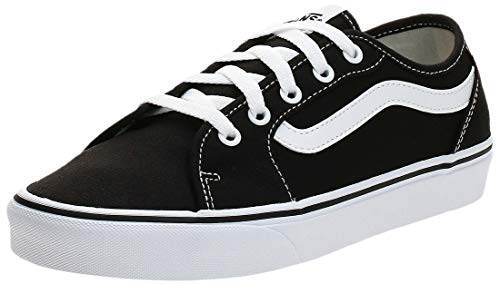 Vans Damen Filmore Decon Sneaker, Schwarz ((Canvas) Black/True White 1Wx), 35 EU