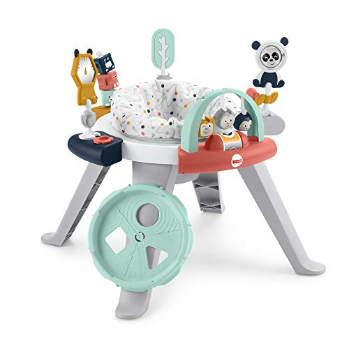 Fisher-Price 3-in-1 Spin and Sort Activity Center - Happy Dots, Infant to Toddler Toy
