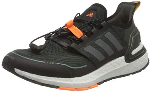 adidas Herren Ultraboost Winter.RDY Running Shoe, Core Black/Iron Metallic/Signal Orange, 43 1/3 EU