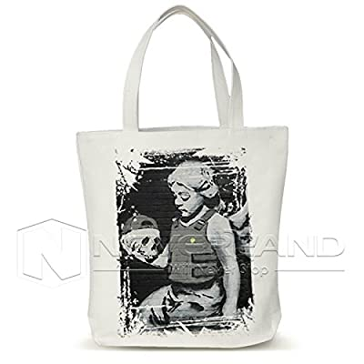 Maxry(TM) Canvas Eco Shopping Bags Friendly Reusable Grocery Shopper Tote Handbags Women Shoulder Bag Funny graffiti D30