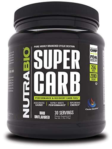 NutraBio Super Carb (30 Servings)