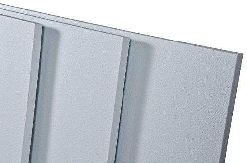 Ecosun E100 - E1000 - Calefactor por infrarrojos con revestimiento termocrystal para una mejor radiación de clase de protección IP44, incluye soporte para pared y techo (E1000)