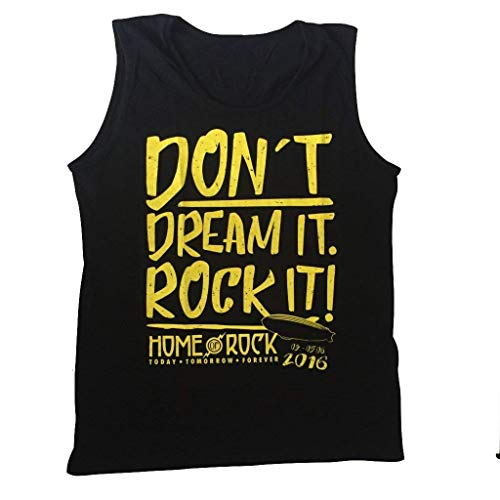Rock im Park Fest - Lied Dont´t dream it - Red Hot Chili Peppers, Black Sabbath usw - offiziell Herren Weste (T-Shirt) - Schwarz, X-Large