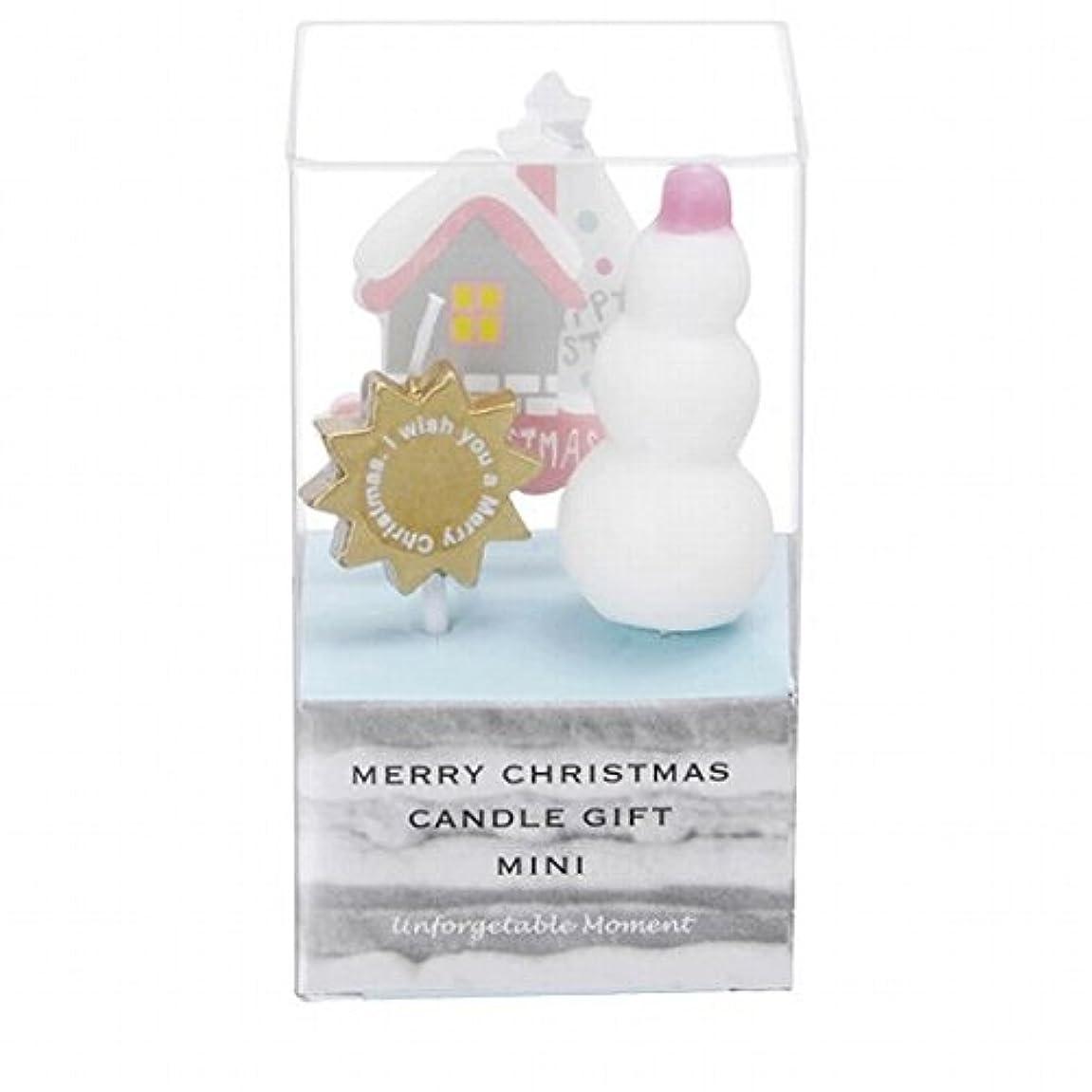 松明矛盾する中庭カメヤマキャンドル(kameyama candle) クリスマスキャンドルギフトミニ 「 B 」