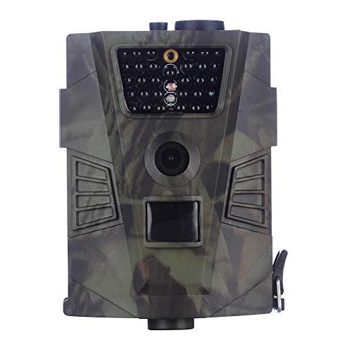WYW Cámara de Caza 12MP,1080P HD Trail Cámara,Cazar Vigilancia de la Fauna,con Visión Nocturna Impermeable IP54,con PIR Infrarrojo Sensor de Movimiento,para Observar Animales Salvajes
