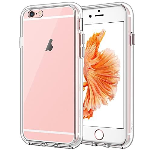 JETech Hülle Kompatibel iPhone 6s Plus / 6 Plus, Handyhülle Hülle Cover Schutzhülle mit Anti-kratzt Transparente & Rückseite, HD Klar