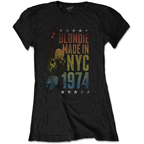 Blondie T Shirt Made In Nyc 1974 T-shirt for Women, Junior Fit, S, M, L