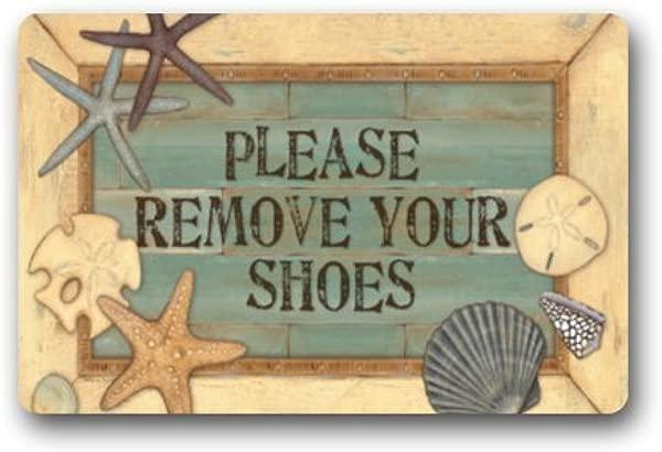 Doormat Standard Store Custom Please Remove Your Shoes