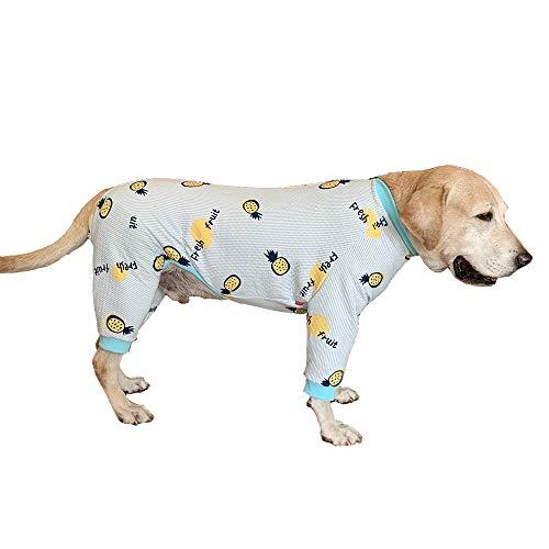 BT Bear - Ropa para Perro Grande, otoño, Invierno, cálida, para Mascotas, Protege Las articulaciones, antipelo, Pijama de Cuatro Patas para Perro para Labrador Golden Retriever Samoyed
