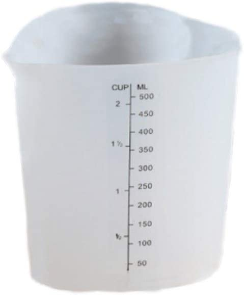 Linyuex Measuring Cup-TOOL Resin Superior Silicone Cup Translated Cream Me Plastic