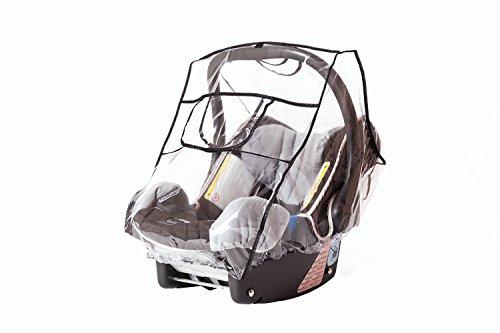 Smart- Planet Protection contra la lluvia para niños portadores / shells portador de bebé (con ventilación), como Maxi Cosi / maxicosi CabrioFix, Guijarro y Citi, romanos, Cybex, Hauck - protección contra el viento también es perfecto para su asiento de bebé