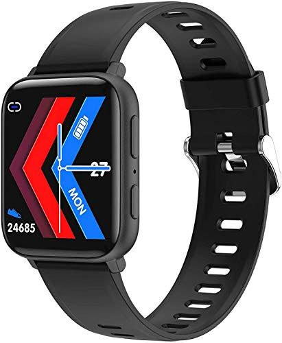 Gymqian A2 Smart Watch Men Hd Recodificando Mp3 Reproducción de Mp3 Smartwatch Fitness Tracker Bracelet 4G Ram Pulsera para Android Ios, Negro Exquisito/Negro