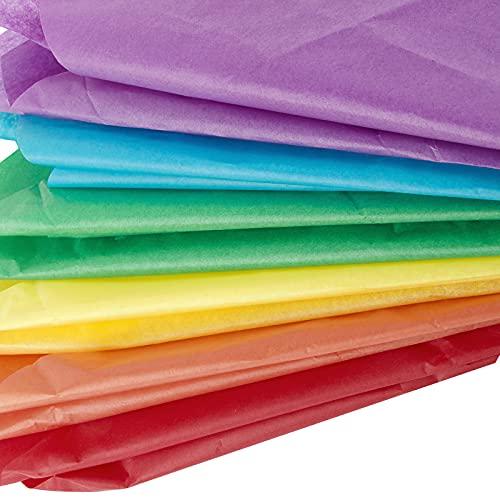 60 Hojas Papel Seda para Envolver Regalos 65x50cm Papeles Envoltura Colores para San Valentín Cumpleaños Boda Navidad