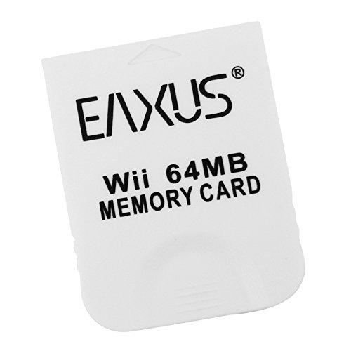 Eaxus®️ 64MB Memory Card - Speicherkarte für Nintendo GameCube & Nintendo Wii