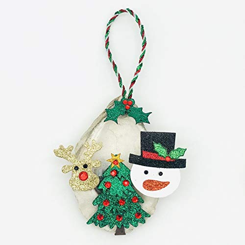 Christmas Oyster Ornaments