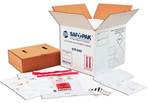 セイフトパック UN1845 ドライアイス用ラベル STP-804