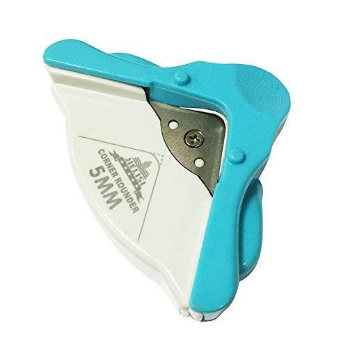 OFKPO Outil de Découpe pour Angle Arrondi, Coupeur de Papier de Machine en Plastique, Arrondisseur D'Angles pour Papier et Plastique