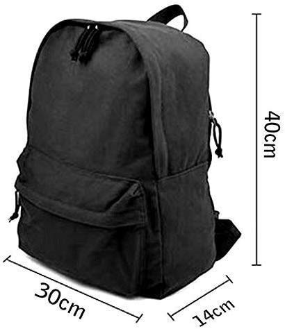 shanximengyama Marcus & Martinus Travel Laptop Backpack Laptops Backpack College School Computer Bag for Women Men Fits 14 Inch Laptop and Notebook Casual Laptop Business Bag Black