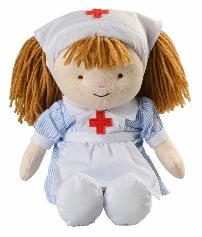 Warmies Wärmepuppe Florence, Krankenschwester, mit Lavendelkornfüllung, mikrowellengeeignet, 42cm
