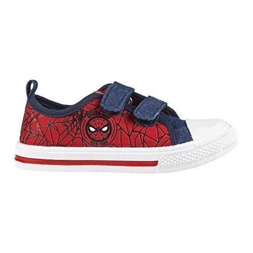 CERDÁ LIFE'S LITTLE MOMENTS 2300003634_T024, Basket Spiderman Chaussure Ete Garcon-Licence Officielle Marvel Studios, Rouge Rouge C06, 24 EU
