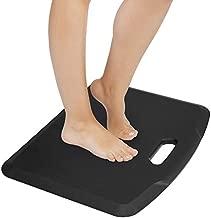 "Mount-It! Anti Fatigue Floor Mat   Standing Comfort Mat for Standing Desk, Home, Office, Kitchen, Garage   Anti-Slip Washable Surface  18""x22""   Rubberized Gel Foam"