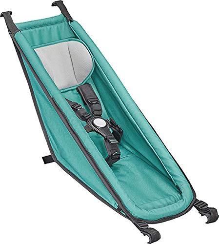 Croozer Unisex– Erwachsene Babysitz-3092025003 Babysitz, grün, One Size
