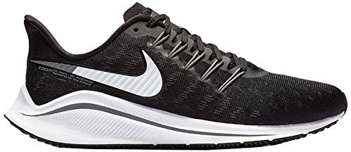 Nike Wmns Air Zoom Vomero 14, Zapatillas de Running para Mujer, Negro (Black/White/Thunder Grey 010), 38 EU