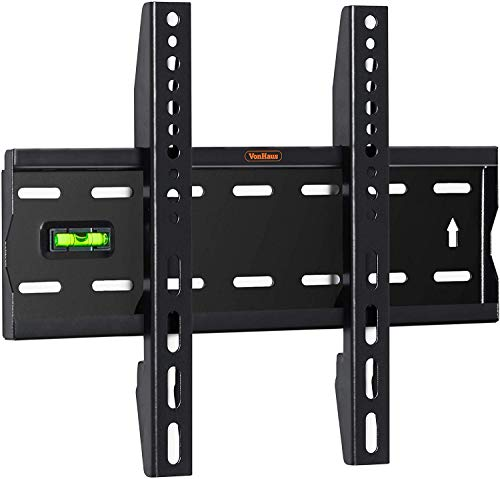 VonHaus Ultra Slim TV Wall Mount for 15-42 inch LCD LED 3D Plasma TVs Super Strong 88lbs Weight Capacity (05/022)
