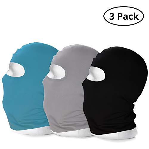 BELLE VOUS Sturmhaube - Winddichte Atmungsaktive Gesichtsschutz Maske für Draußen, Skimaske, Motorradmaske, Sturmmaske - Schutzkleidung für Helm, Fahrrad, Motorrad, Wintersport – Multifunktionstuch