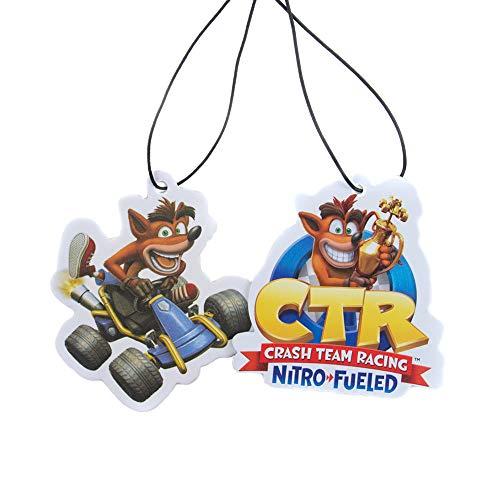 Crash Team Racing Lot de 2 désodorisants pour voiture