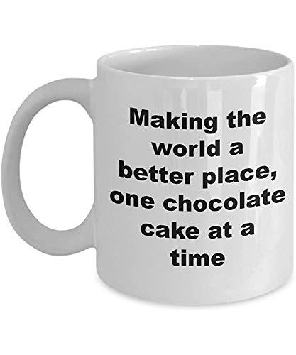 Rexing Baker Tasse Schokoladenkuchen Bäcker Lustiges 11 Oz Kaffeetasse Geschenk