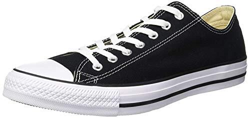 Converse Herren Sneaker Chuck Taylor All Star OX Sneakers, Schwarz, 43 EU