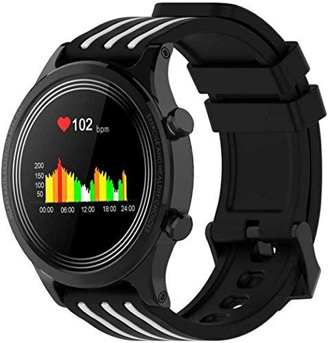 hwbq Reloj Inteligente Hombres Mujeres Ip68 Smartwatch Weather Display Tracker Sports-B