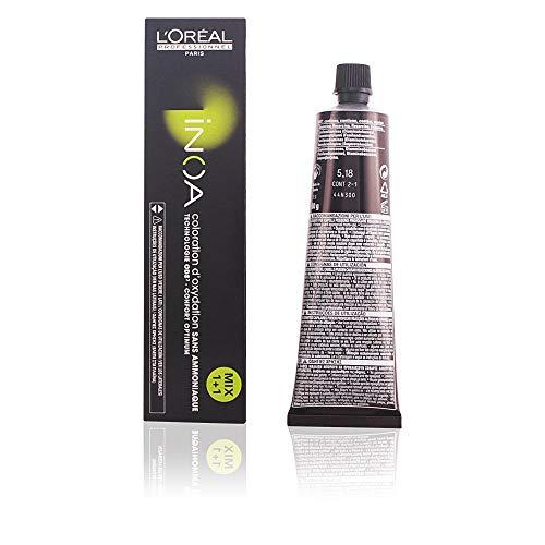 L'oréal Paris Paris Paris Inoa - Oxidative Coloration Ohne Ammoniak 5, 18 Hellbraun Asch Mokka, 1er Pack (1 X 60 Ml) 5,18 hellbraun asch mokka